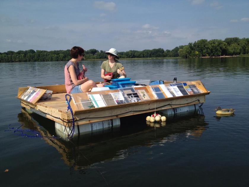 ukeleles on the lake