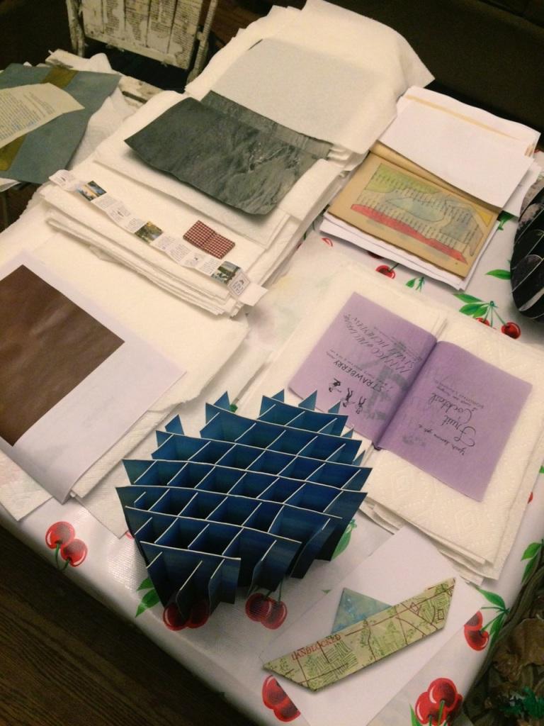Sarah Stengle's studio saving the day.