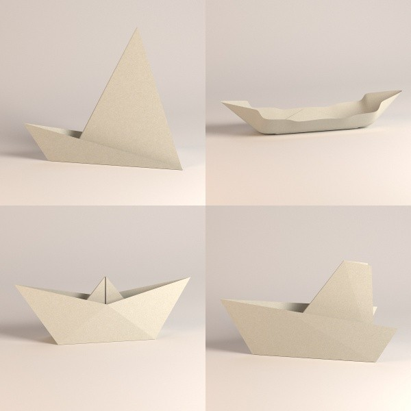 Learn to make these boats to float your books at Aki Shibata's workshop.